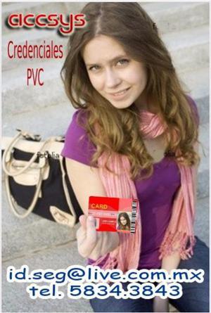 Credenciales PVC Agencias,Asociaciones, Empresas, escuelas