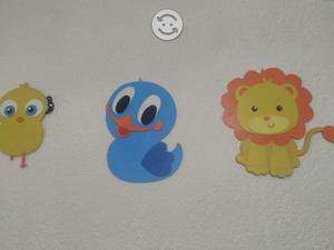 Figuras de madera para niños