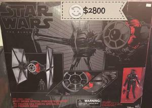 Nave de star wars First Order Tie Fighter Black Se