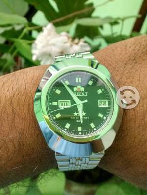 Reloj orient automatico linea nueva