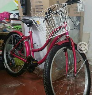 V/c bicicleta nueva