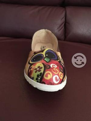 Zapatos búho