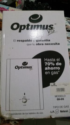 calentador gas L.P.