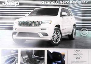 Jeep Grand Cherokee . Ficha técnica original