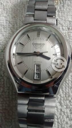 Reloj COMMANDO LEOPARD  bhp 28 joyas