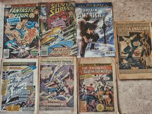 lote de 7 comics de Marvel
