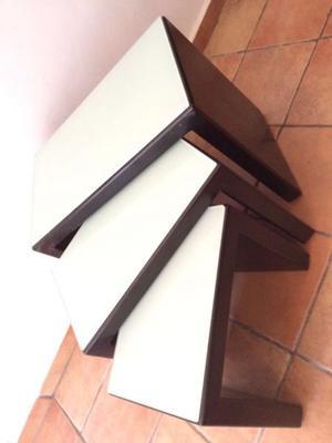 3 Mesas de cristal de lujo