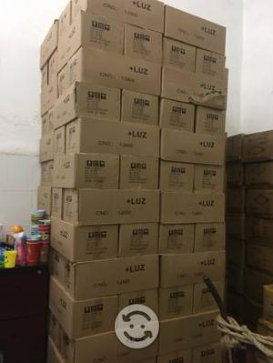 Foco 100 watts caja con 100 piezas