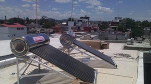 calentador solar 200 litros 15 tubos