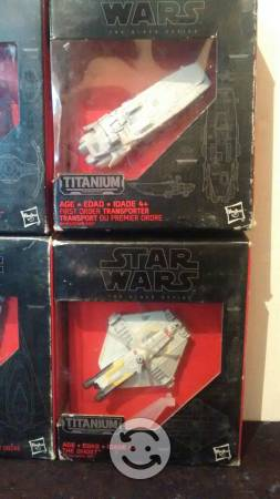 Black titaniun 8 naves star wars
