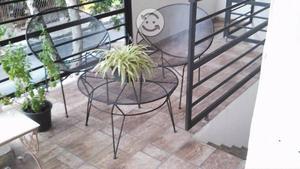 Juego de jardin 2 sillas y mesa