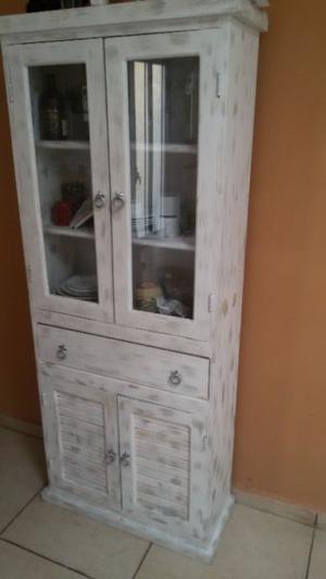 Mueble credenza de madera 180 x 70 x 28 cm