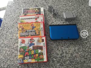 Nintendo 3DS XL con 4 juegos