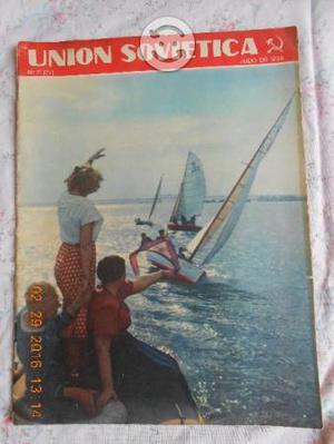 Revista Union Sovietica numeros 71 y 77
