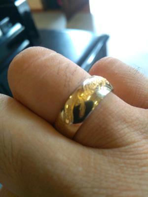 anillo de fantasía del señor de los anillos