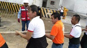 cursos de primeros,evacuacion contra incendio