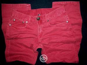 Jeans de colores HOMBRE talla 32x32 americanos