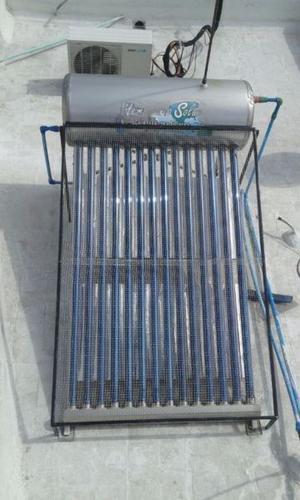 Protege tu Calentador Solar Malla anti-granizo.