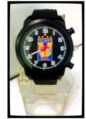 Reloj De Pulso Caballero Del Equipo De Tigres Uanl