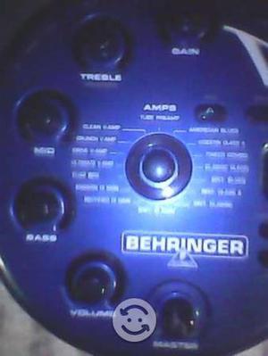 Amplificador y efectos de sonido modelo vamp 2