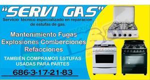 reparacion de estufas 100 % garantizado