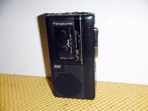 Grabadora De Voz Panasonic De Microcassette Rn-122 Con Vas