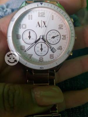 Reloj unisex A/X 100 original dorado