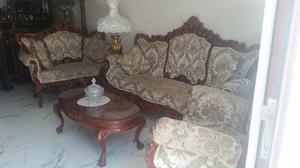 Sala estilo provenzal de tres piezas
