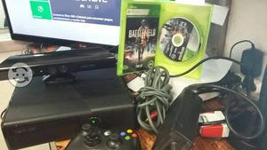 Xbox 360 slim Con Kinect Y juego Original