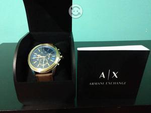Reloj Armani Exchange azul Nuevo en caja.