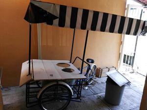 Triciclo para venta de tacos o para carga