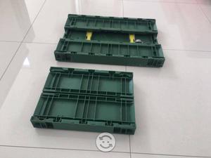 Caja Plastico PP Uso Rudo Apilables Y Plegables
