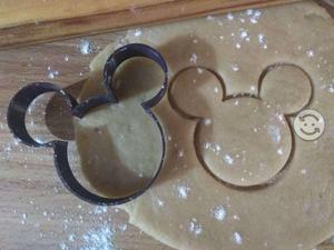 Cortador de galletas de Mickey, Disney, 8cm