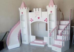 Litera Castillo de princesa