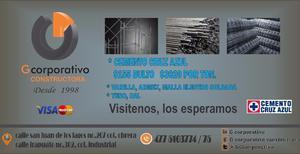 MATERIALES DE CONSTRUCCIÓN CRUZ AZUL