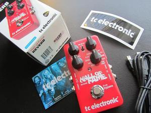 Pedal Reverb Hall of Fame TC ELectronic