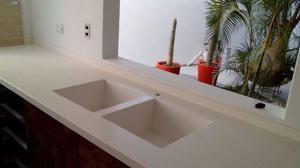 lavamanos minimalistas de resina