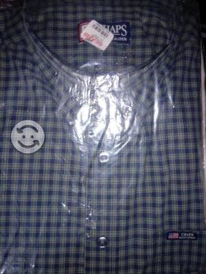 4 camisas talla XG corte clasico normal