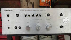 Amplificador gradiente 220 vintage