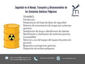 Certificación DC3 Sustancias Químicas y Peligrosas
