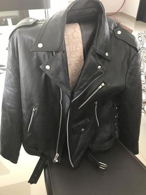 Chamarra piel Harley Davidson