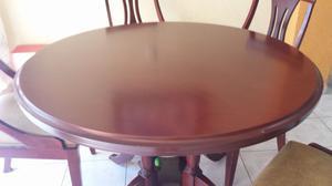 Comedor cuatro sillas