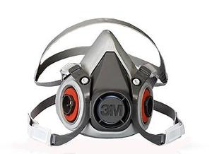 Kit Respirador 3m De Media Cara