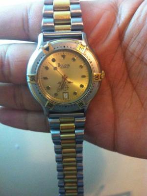 Reloj Bulova Chapa de Oro con Acero