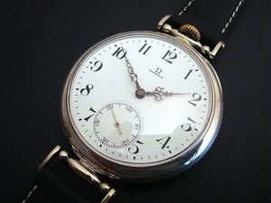 Reloj para caballero Omega de plata pura 900