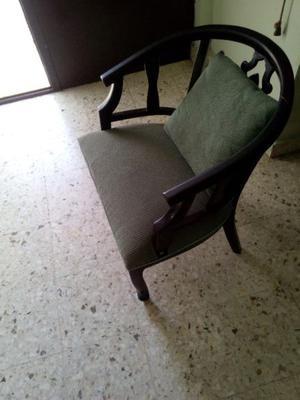 SILLA RECIBIDOR MADERA