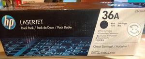 Dual Pack Toner HP 36a