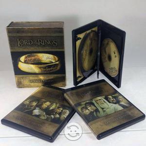 El Señor De Los Anillos Trilogia Extendida Blu-ray