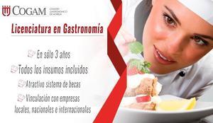 Estudia Gastronomía en Morelia