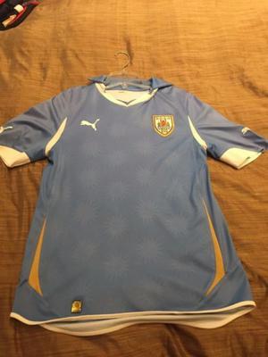 Jersey oficial de la Seleccion Uruguya de Futbol